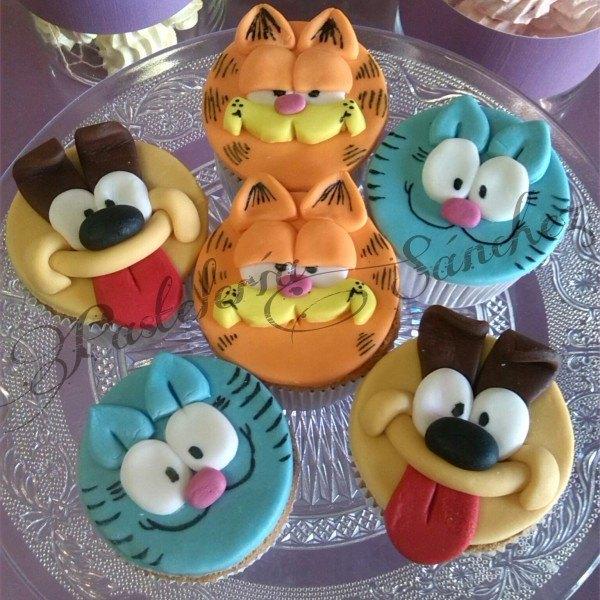Cupcakes Garfiel